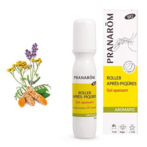 Pranarôm   Aromapic   Roller Après-Piqures Bio (Eco)   Gel Apaisant aux Huiles Essentielles Pures et Naturelles   Format Pratique     HECT5 ml