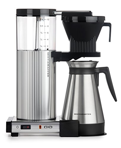 Amazon - Technivorm Moccamaster CDGT Coffee Brewer w/ 40 oz. Polished Silver Thermal Carafe $255