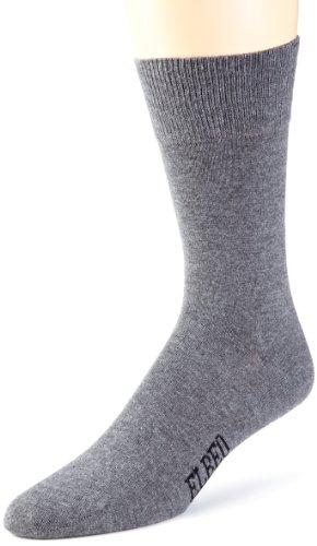 ELBEO Herren Sensitive M Pure Cotton Socken, Grau (anthrazit Melange 9560), 39-42 (I)
