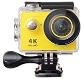 Systene 1080P WiFi Sports Camera 2 .0 Inch LCD Display Ultra HD 4K 12MP 170D Wide Angle Full HD Lens...
