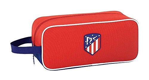 """Safta Zapatillero Atlético De Madrid """"Coraje"""" Oficial Zapatillero Mediano 340x140x150mm"""