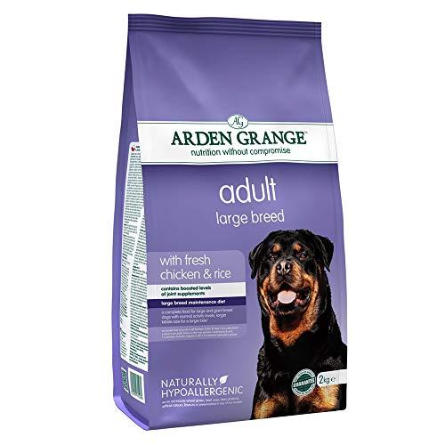 Arden Grange Comida Seca para Perros Adultos de Razas Grandes, Pollo, 2 kg