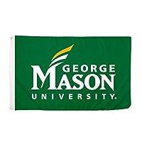 Desert Cactus George Mason University NCAA 100% Polyester Indoor Outdoor 3 feet x 5 feet Flag (Style 4a) [並行輸入品]