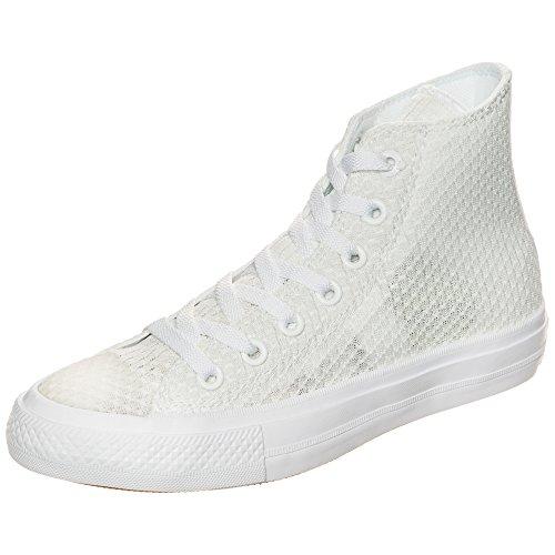 Converse Chuck Taylor All Star II High, Zapatillas Altas Mujer, Blanco (Weiß Weiß), 37 EU