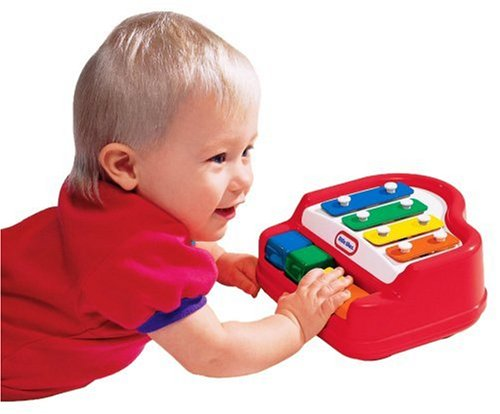 Little Tikes Preschool - Jouet Musical - Tap-a-Tune®- Baby Piano