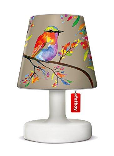 Fatboy® Edison the Petit + Cooper Cappie birdie brown | Tischlampe / Outdoor Lampe / Nachttischlampe | Kabellos & per USB Aufladbar