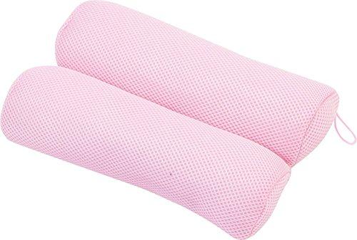 大島屋 お風呂 枕 マシュマロピロー ピンク 約28×20×6.5cm
