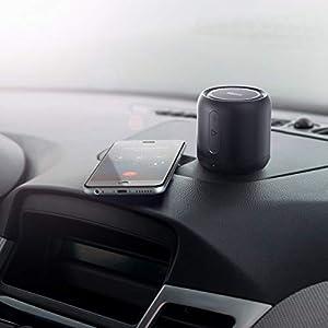 Anker SoundCore mini, Super-Portable Bluetooth Speaker with 15-Hour Playtime, 66-Foot Bluetooth Range, FM Radio, Enhanced Bass - Gray