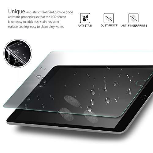 IVSO Displayschutz für Lenovo Tab M10 FHD Plus 10.3 9H Härte, 2.5D, Displayfolie Schutzglas Displayschutz Für Lenovo Tab M10 FHD Plus (2nd Gen) 10.3 TB-X606F, (2 x)