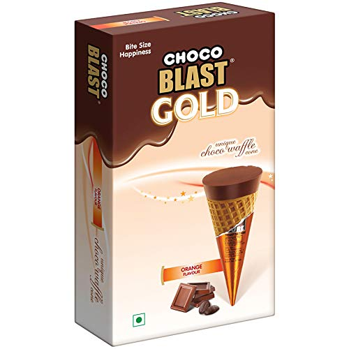 Pure Temptation® Easy-to-use Gold Chocoblast Chocolate - New Orleans Mall Orange Box Gift
