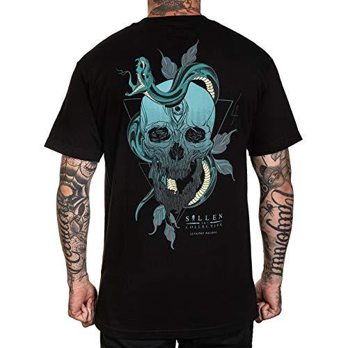 Sullen Men's Amaral Standard Short Sleeve T Shirt Black XL