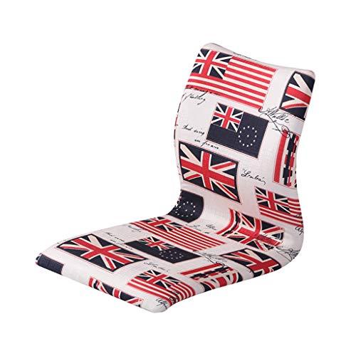 Chaises Longues Chaise Longue Fauteuil de Dossier Chaise de Pause déjeuner Canapé de Loisirs Portable 13 Couleurs (Couleur : D)