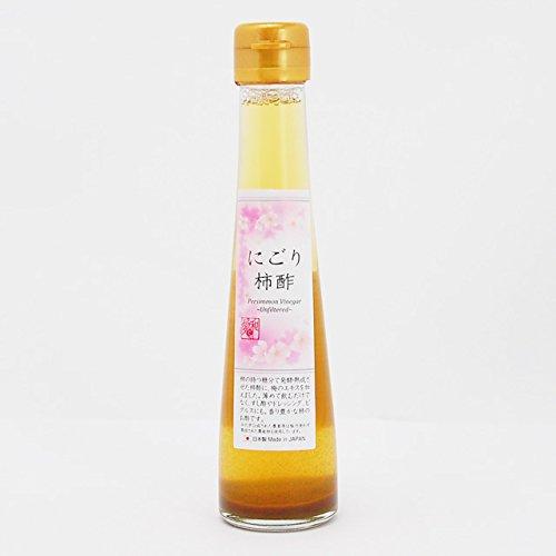 プレマシャンティ にごり柿酢 120ml