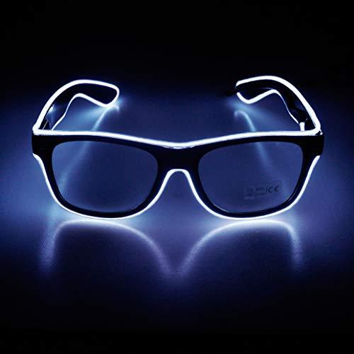 Aquat Light up EL Wire Neon Rave Glasses Glow...
