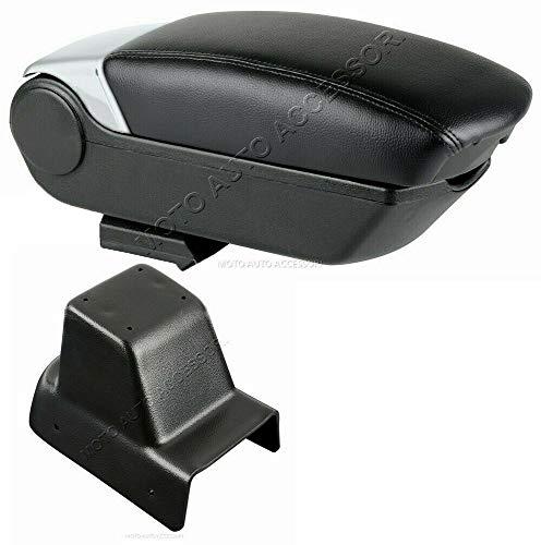 Motorfiets accessoires middenarmsteun armrest 2 bus USB Fiat Punto Evo 3p 10/09>04/2012