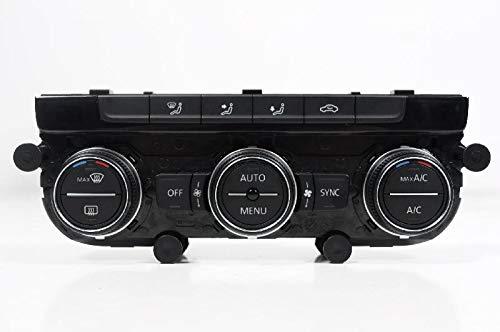 Botones para panel de interruptor de control del climatizador para Golf MK7 5G 2.0 R 4motion 2015 RHD A/C 5Q0907044
