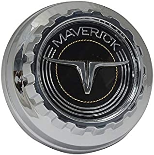 DENNIS CARPENTER FORD RESTORATION PARTS Chrome Plated Maverick Gas Cap - Compatible with Ford