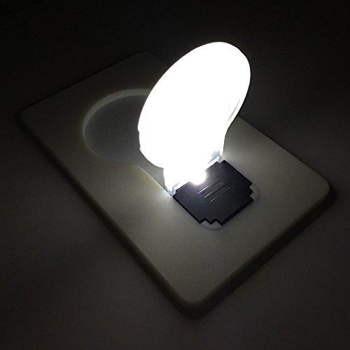 Inovat 10PCS / 10 x Mini led Credit Card/Portable/Card Pocket Light Bulb lamp Christmas Card/Switch Card Sharp led Light Bulb White Card with White Color Light