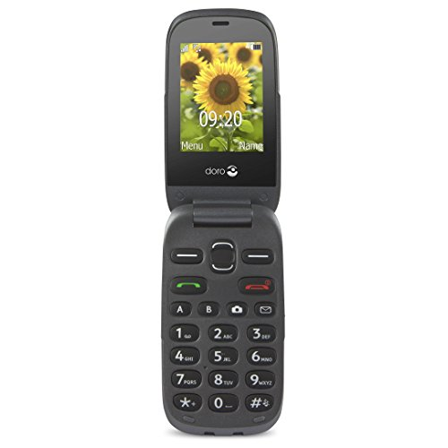 Doro PhoneEasy 6030 2.4' 94g Grafito - Telfono mvil (SIM nica, Despertador,...