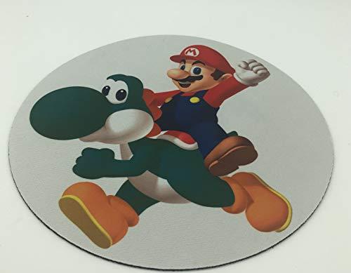Alfombrilla de Ratón de Juego- Super Mario Bros - Suave + Resistente al Agua. Tela de Superficie, Base de Agarre de Goma Antideslizante, Se Adapta a Todos los Tipos de ratón.