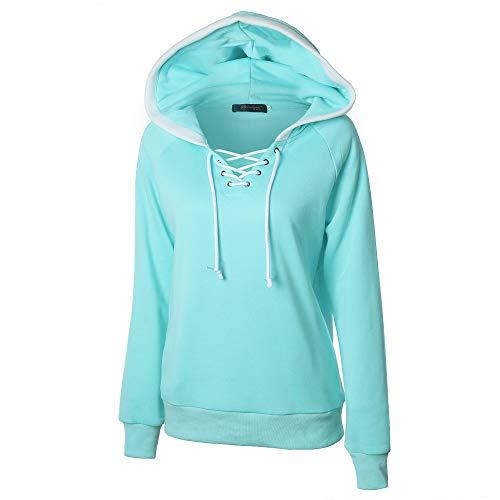 Berimaterry Damen Pullover Sweatjacke Frauen Winter Herbst Hoodie Mit Kapuze Hoodie Pullover Tops Mantel Bluse Sweatshirt Kapuze
