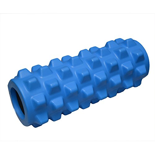 FH PRO FOAM ROLLER TRIGGER POINT MASSAGE AID IN YOGA PILATES REHAB CROSSFIT PHYSIOTHERAPY by Fitness Health