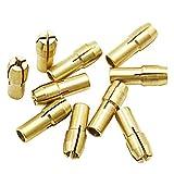 10 brocas de latón de 0,5 a 3,2 mm, accesorios para herramientas...