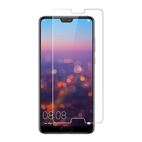 [2 unidades] Protetor de tela para Huawei P20 Pro, protetor de tela de vidro temperado para Huawei P20 Pro, protetor de tela transparente HD antiarranhões para Huawei P20 Pro de 6,1 polegadas