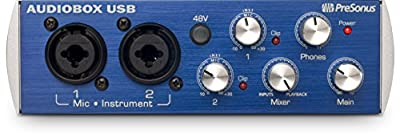 PreSonus AudioBox USB 2x2 Audio Interface - Includes Studio One by PreSonus