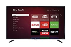 Dimensions (W x H x D): TV without stand: 28.9 x 17 x 3.2 inches , TV with stand: 28.9 x 19.7x 7.8 inches Smart functionality offers access to over 4,000 streaming channels featuring more than 450,000 movies and TV episodes via Roku TV 720p HD resolu...