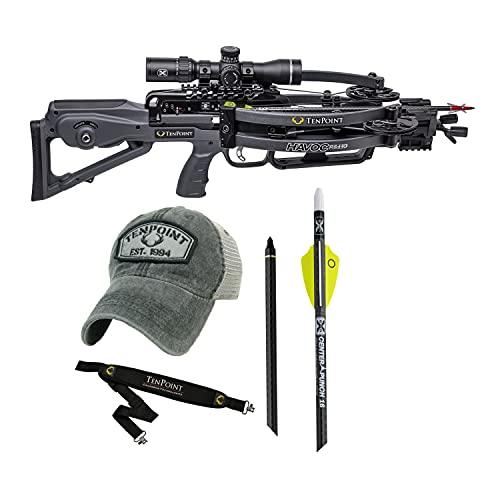 TenPoint Havoc RS440 Crossbow (Graphite) Basic Bundle (4 Items)