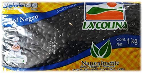 Schwarze Bohnen (Frijol Negro 1kg)   Der authentische Geschmack Mexikos   Glutenfrei   Ohne Konservierungsstoffe   Vegane Hülsenfrüchte