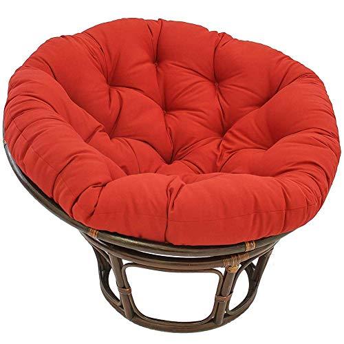 Egg Hammock - Silla de almohada para interior, exterior, engrosamiento, silla giratoria redonda, estera con almohada, columpio, mecedora, almohadilla, silla giratoria, cojín, 40x40x6cm (16x16x2) I