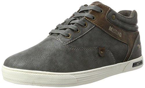 MUSTANG Herren 4120-501-259 Hohe Sneaker, Grau (Graphit), 43 EU