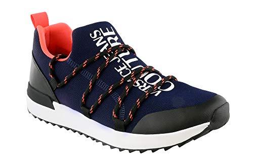 VERSACE JEANS COUTURE Zapatillas para hombre. Azul Size: 43 EU