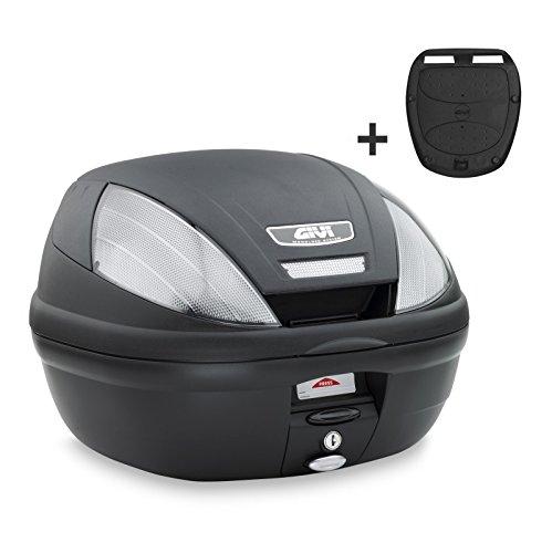 Topcase Kymco Yager GT 125 Givi Monolock E370NT schwarz