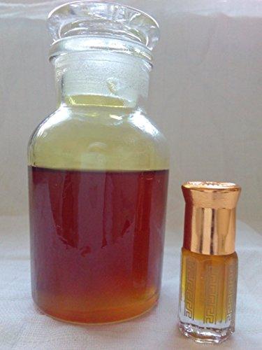 Roter Safran Red Saffron Parfum alkoholfreier Halal Mekka Kaaba Duft Attar Duftöl (Red Saffron, 6ml)