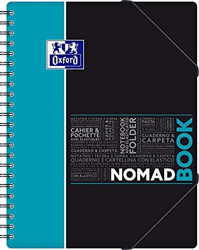 Oxford NomadBook A4 + 24 x 32 cm cuadrados grandes Seyès 160 páginas 90 g