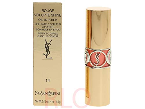 Yves Saint Laurent YSL Rouge Volupte Shine Nr.14 Corail in Touch 4,5 g