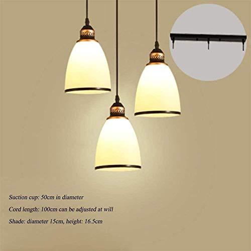 Iron Kroonluchter, Art Deco Kroonluchter Simple Chandelier/Woonkamer Slaapkamer Study Plafond Lamp/Beautiful Restaurant Kroonluchters, B, Grootte: B (Size : C)