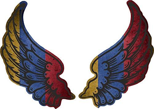 Akachafactory sticker vleugel biker vlag land AM Armenie