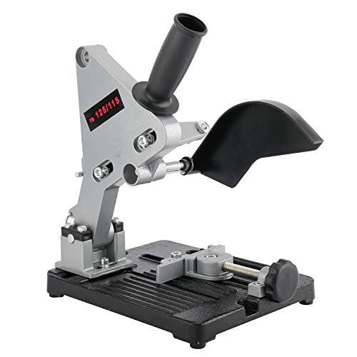 powerful Angle grinder DIY Angle grinder Cast iron floor stand Grinder holder Cutter support Bracket holder…