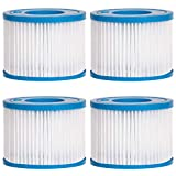 Future Way Type VI for Coleman Hot Tub Filters, Saluspa Filter 90352E, Bestway Pool Pump Filter Cartridge, Lay-Z-Spa, Inflatable Hot Tub Systems, Portable Hot Tub Filters, 2 Pack