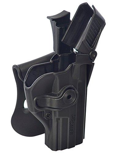 SIG SAUER SP2022/SP2009/220/226/228/P227/MK 25Level-3 Sicherungs-Pistolenhalfter, schwarz (1390)
