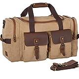 WOWBOX Duffel Bag Travel Weekender Duffle Bag Luggage Bags...