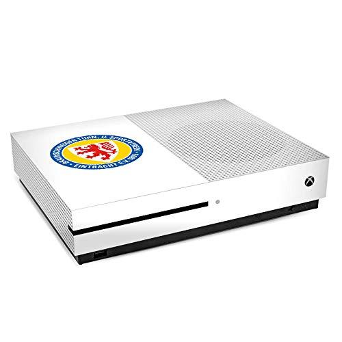 DeinDesign Skin kompatibel mit Microsoft Xbox One S Folie Sticker Offizielles Lizenzprodukt Eintracht Braunschweig Wappen