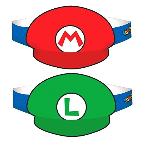 Find Cheap Super Mario Brothers Paper Hats, Party Favor