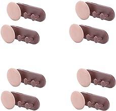 STROG 8 STKS Sticky Muur Haken Sterke Plastic Zelfklevende Haken Heavy Duty Stick Op Haak Geen Nagels Verwijderbare Haken ...