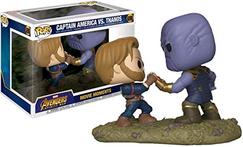 Funko POP!: Marvel: Vengadores: Infinity War: Capitán América vs. Thanos Exclusivo