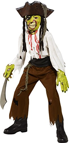 Smiffy's - CS99015 - Costume pirate mort vivant 7/9 ans